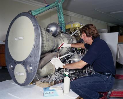 Stentor rocket engine, c 1960.
