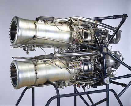 De Havilland Double Spectre rocket engine, c 1959.