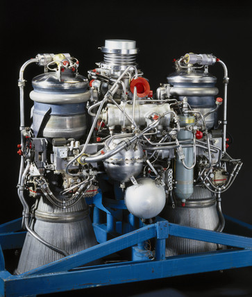 Gamma Type 2 engine, c 1968.