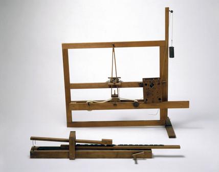 First Morse telegraph, 1835.
