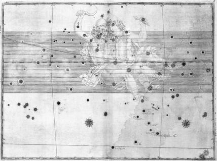 The constellation Gemini, 1603.