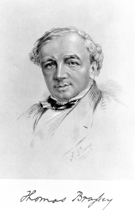 Thomas Brasey, British railway contractor and engineer, c 1850s.