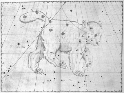 The constellation Ursa Major, 1603.