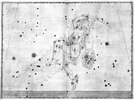 The constellation Perseus, 1603.