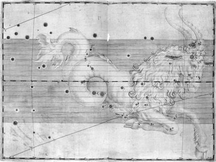 The constellation Capricornus, 1603.