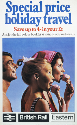 'Special Price Holiday Travel', BR (ER) poster, 1970.