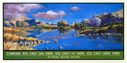 'Corrour', Scotrail poster, 1996.