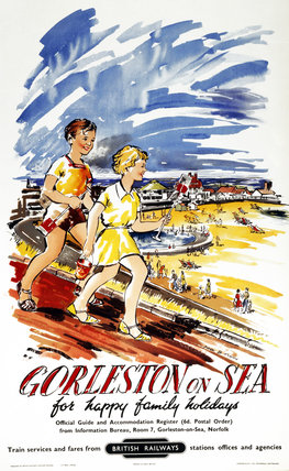 'Gorleston-on-Sea, for Happy Family Holiday