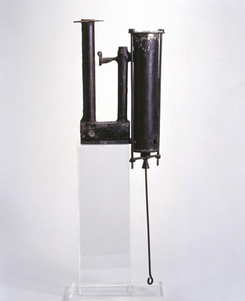 Watt's separate condenser, second model, 1765.