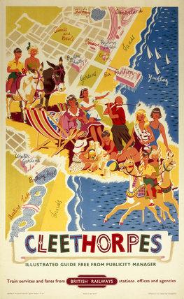 Cleethorpes, BR (ER) poster, 1960. Poster