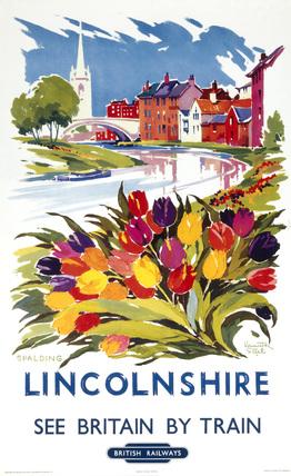 'Lincolnshire - Spalding', BR (ER), 1960. P