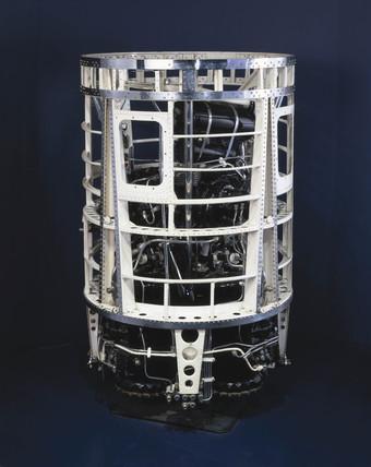 Gamma 201 rocket engine, c 1957.