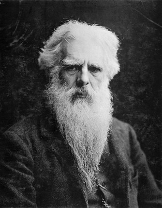 Eadweard James Muybridge, British-American photographer, c 1890.