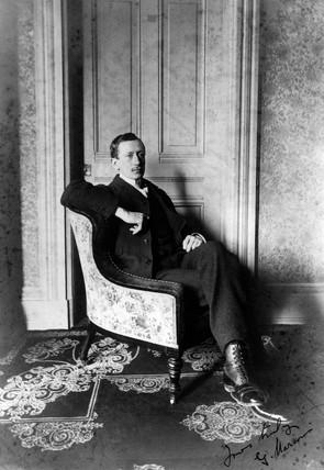 Gugliemo Marconi, Italian radio pioneer, c 1890s.