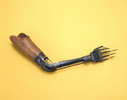 Artificial arm, 1840-1900.