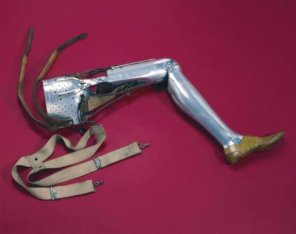 Artificial leg, 1928.