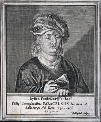 Paracelsus, Swis physician and alchemist, c 1530s.