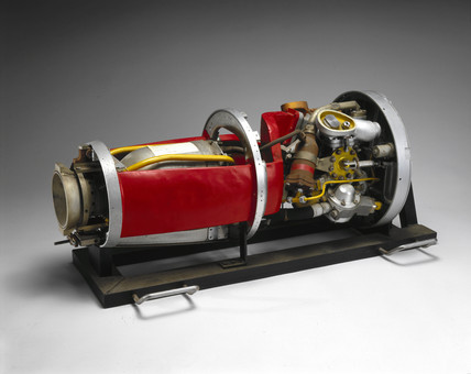 Beta 2 rocket engine, 1948-1953.