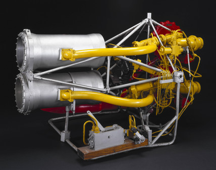 Gamma 1 rocket engine, c 1952.
