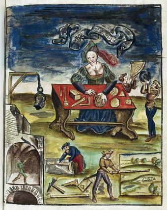 'Typus Geometris', 1535.