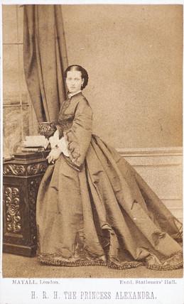 Princes Alexandra, c 1875.