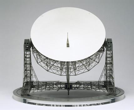 Jodrell Bank Radio Telescope, c 1957.
