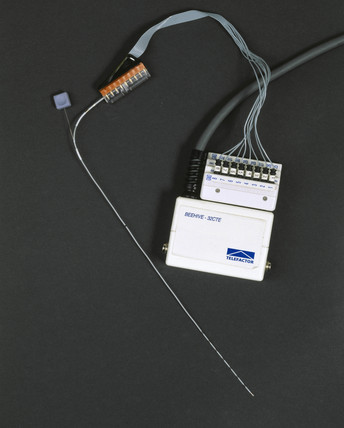 Device for measuring brain activity during an epileptic fit, 2001.