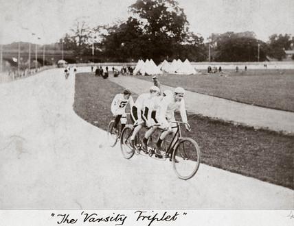 'The Varsity Triplet', Herne Hill, London, 1894.