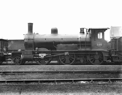 Great Eastern Railway (GER) 2-6-0 steam locomotive No 530, c 1882.