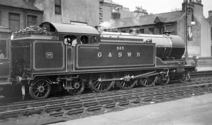 Great Southern & Western Railway (GSWR) 4-6