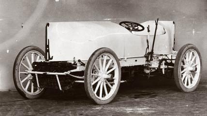 C S Rolls' record-breaking 80 hp Mors motor car, 1903.