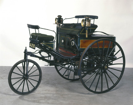 Benz 1.5 hp motor car, 1888.