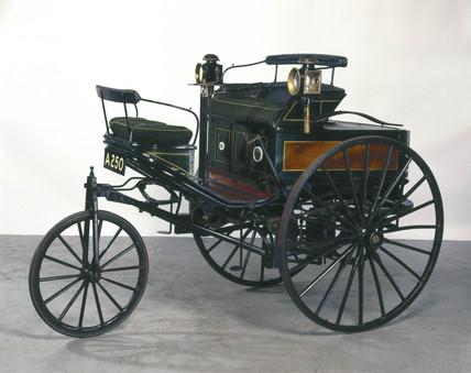 Benz 1.5 hp motor car, 1888.
