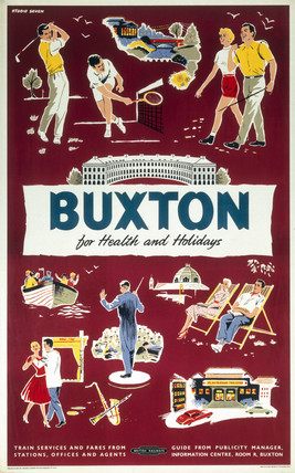 'Buxton for Health and Holidays', BR (LMR)