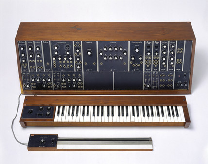 Moog synthesizer, 1968-1969.