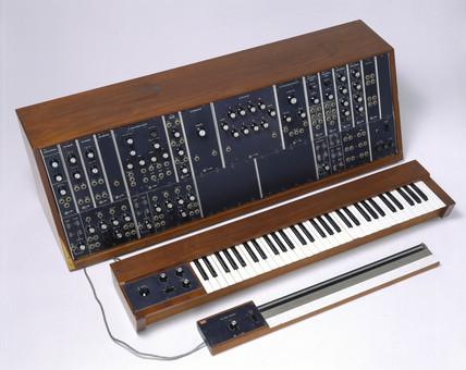 Moog synthesizer, 1968-1969.