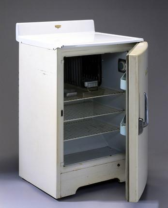 Frigidaire refrigerator, United States, 1949-1959.