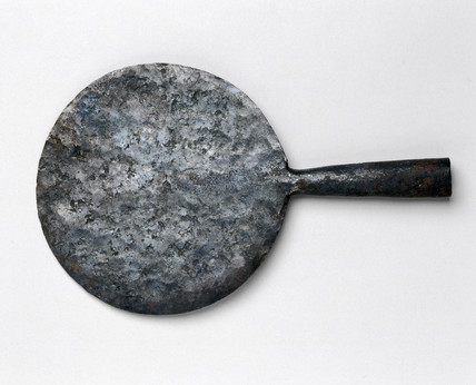 Quer (maloda) used by the Jur Tribe for hoeing, c 1930s.