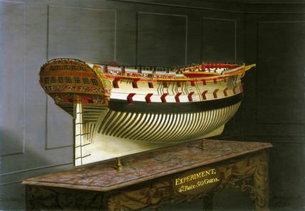 HMS 'Experiment', 1775.