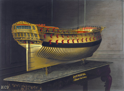 HMS 'Intrepid', 1773-1775