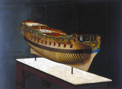 HMS 'Berwick', 1747.