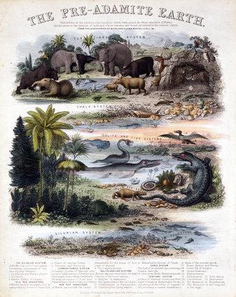 'The Pre-Adamite Earth', 1849.