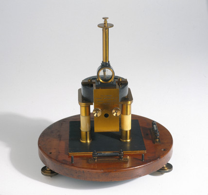 C V Boys' radio-micrometer, with outer casing removed, 1907.