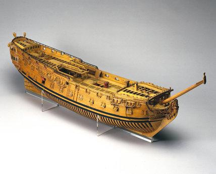 60-gun warship, c 1693.