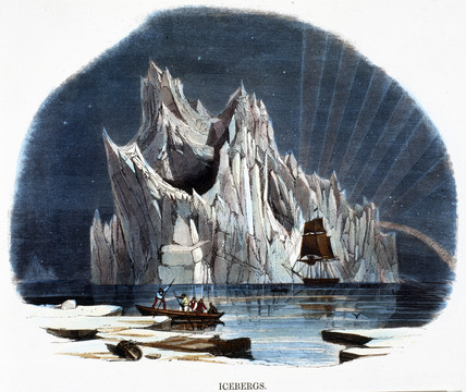 'Icebergs', 1849.