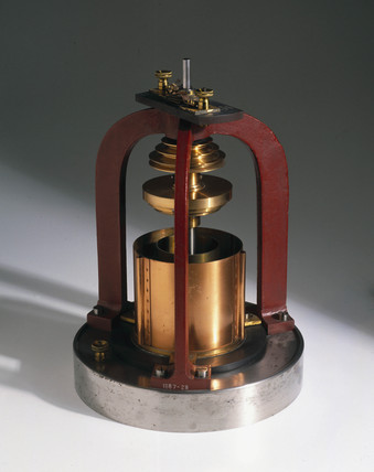 Apparatus for showing the mechanical equivalent of heat, 1884.