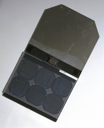 'Atlantis Sunslates' solar panel, 2001.