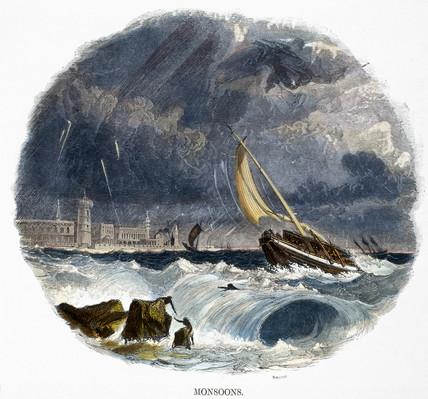 'Monsoons', 1849.