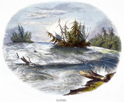 'Rapids', 1849.