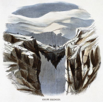 'Snow-Bridges', 1849.